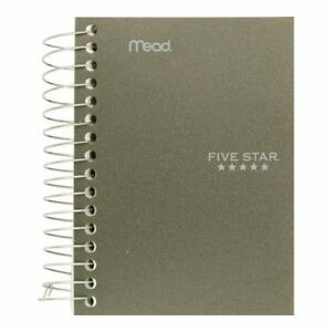 Meadwestvaco 45388 5 5 X 4 Five Star Fat Lil Wirebound Notebook