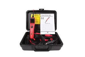 Power Probe 3ez Circuit Tester Kit W built In Teaching Software Red Pp3ezredas