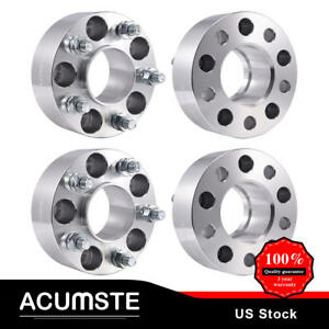 4pc Wheel Spacers 2 5x4 5 71 5mm For Jeep Grand Cherokee Wrangler Liberty