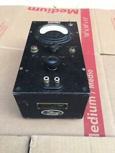 Vintage Ballantine 300 Vacuum Tube Volt Meter Needs Power Cord