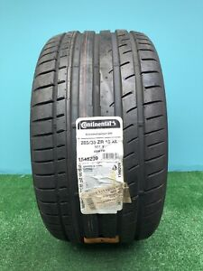 1 New Continental Extreme Contact Dw Tuned 285 35zr18 285 35 18 2853518