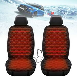 12v Car Seat Heater Thickening Heated Pad Chair Cushion Hot Winter Warmer Cover