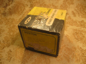 Daystrom Weston 301 57 Dc Volts Battery Charging Electro motive Nib Nos 1964