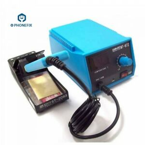 140w 220v Mt 972 Tweezer Soldering Iron Station Phone Pcb Bga Smd Welding Tool