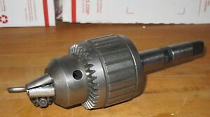 Jacobs 18n Superchuck With Key 3 Morse Taper Shank
