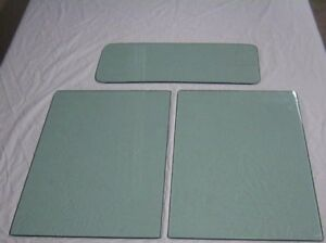 1928 1929 1930 1931 Model A Ford Tudor Door Glass And Back Glass Tinted Vintage