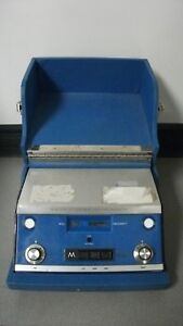 Maico Model Ma 19 Audiometer With Headphones