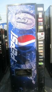 Canned bottled Soda Vending Machine For Sale Pepsi Graphics