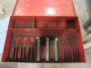 Lathe Tool Holder Storage Box For No 1 Size Armstrong Williams