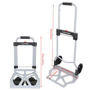 Aluminium Cart Folding Dolly Push Truck Hand Collapsible