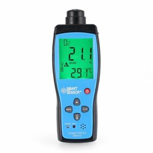 Air Quality Monitor Meter O2 Oxygen Temperature Gas Detector Analyzer Tester Ws