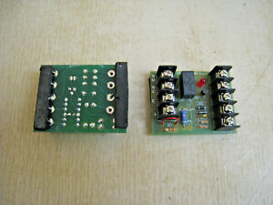 Lot Of 2 Alarm saf Rbk Relay Module Boards Free Shipping