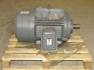 New Siemens 60 Hp Electric Motor 3545 Rpm 230 460v 364ts 3ph 1la03642fp22