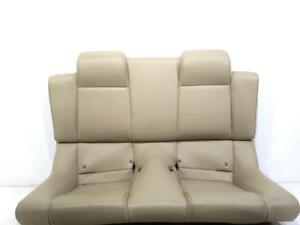 Oem Ford Mustang Gt Convertible Leather Rear Seat Tan 2005 2006 2007 2008 2009