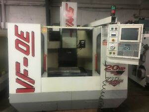 Haas Vf 0e Cnc Vertical Machining Center 1999