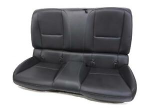 Chevy Camaro Ss 2ss Oem Leather Rear Back Seat 2010 2011 2012 2013 2014 2015