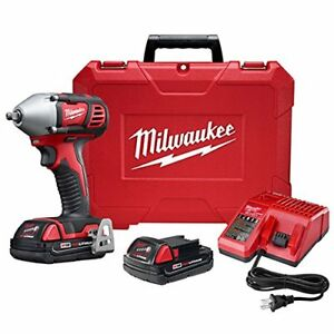 Milwaukee Electric Tools 495 2658 22ct M18 0 38 In Impact Wrench ct Kit
