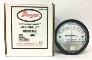 Dwyer Magnehelic Differential Pressure Gage 1 0 1 Model 2302 Used a 12 6