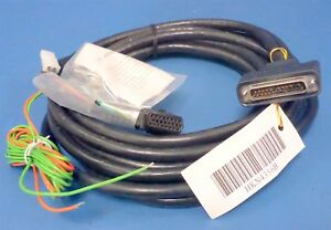 New Motorola Hkn4356b Spectra Astro 17ft Control Head Y Cable