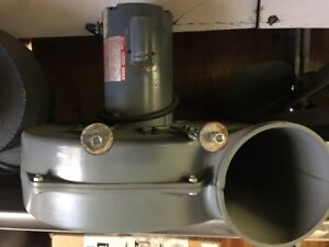 7 1 2 Discharge Blower With Dayton Motor