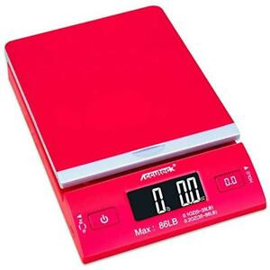 Accuteck Postal Scales Dreamred 86 Lbs Digital Shipping Postage With Usb