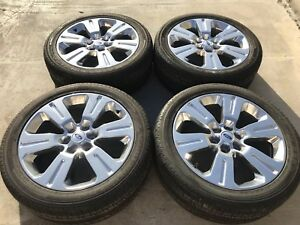 22 Ford F 150 Expedition Oem Stock Rims Wheels Tires 20 2016 2017 2018 10064