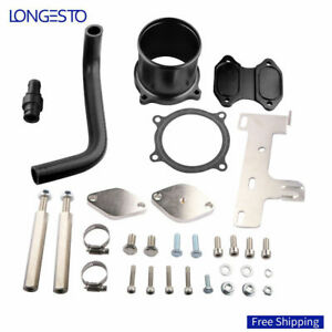 Egr Cooler Valve Throttle Delete Kit For 10 14 Dodge Ram 2500 3500 6 7l Trucks