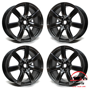 Set Of 4 Nissan Gt r 2009 2010 2011 20 Factory Original Staggered Wheels Rims
