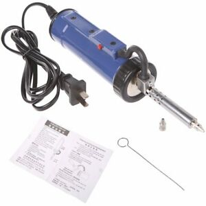 30w 220v 50hz Electric Vacuum Solder Sucker Desoldering Pump Iron Gun Hand To
