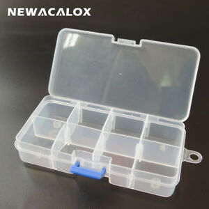 Mini Waterproof Container Transparent Tool Box Electronic Plastic Parts Toolb