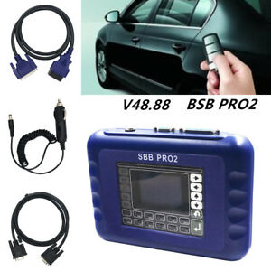 Newest Sbb Pro2 V48 88 Key Programmer Tool No Token Limitated Support Car 2017