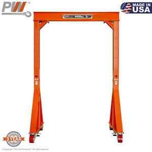 Prowinch Manual Gantry Crane 2 Ton 12 Ft Height 8 Ft Span Made In Usa
