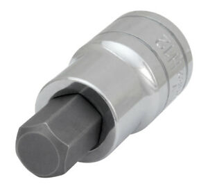 Performance Tool 1 2 In Dr Hex Bit Socket 12mm W32982