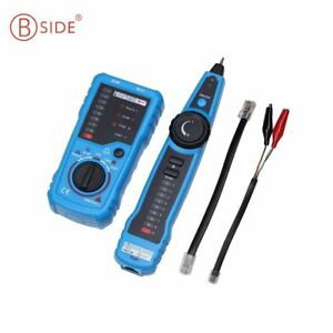 Bside Fwt11 Handheld Wire Line Finder Tester Network Cable Tracker Tools W1