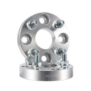 2 4x100 Wheel Spacers Adapter For Hyundai Accent Toyota Yaris Mazda 2 12x1 5