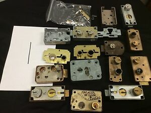Safety Deposit Box Locks Huge Mixed Lot Of Mosler Hhm Diebold