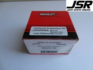 96 10 Mustang Gt Or Cobra 4 6 Manley Ductile Iron Piston Rings 020 Size 3 572