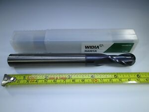 Widia Hanita Solid Carbide 5 8 16mm End Mill Ball Nose Long Milling Lathe Tool