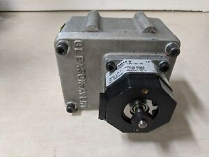 Gleason Avery L20r24v Compatible Stepper Motor Gear Box For Parts Or Repair