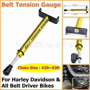 Motorcycle Belt Tension Gauge Tool For Harley Davidson All Belt Driver Bikes