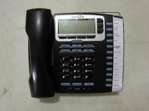 Allworx 9212l Black 12 Button Voip Telephone With Backlit Display