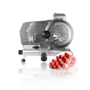 10 Semi automatic Meat Slicer Mutton Roll Beef Roulade Cutting Machine Ce 320w