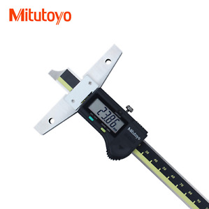 Mitutoyo Digital Depth Vernier Caliper 571 201 20 0 150 Mm