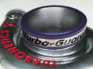 Purple Turbo guard 5 Inch 127mm Air Intake Screen Funnel Velocity Stack