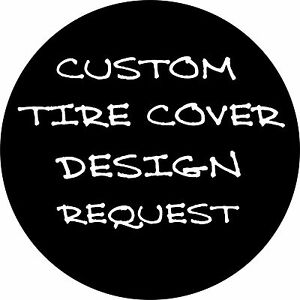 Custom Art Image Logo Spare Tire Cover Any Size Any Vehicle Free Shipping