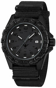Khs Tactical Watch Military Xtac Swiss Red H3 Light Date Army Band Khs rext nb