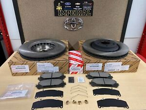 2011 2018 Toyota Sienna Genuine Front Brake Kit Oem Rotors Tcmc Pads