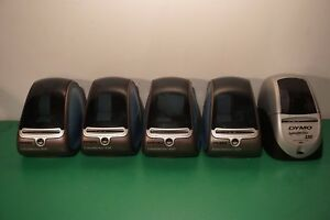 Lot Of 5 Dymo Labelwriters 400 330