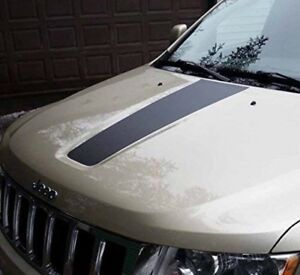 2011 2018 Jeep Grand Cherokee Front Hood Graphic Decal Blackout Matte Black