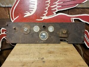 1920s Dodge Brothers Dash Speedometer Guage Ignition 1923 1924 1925 1926 1927